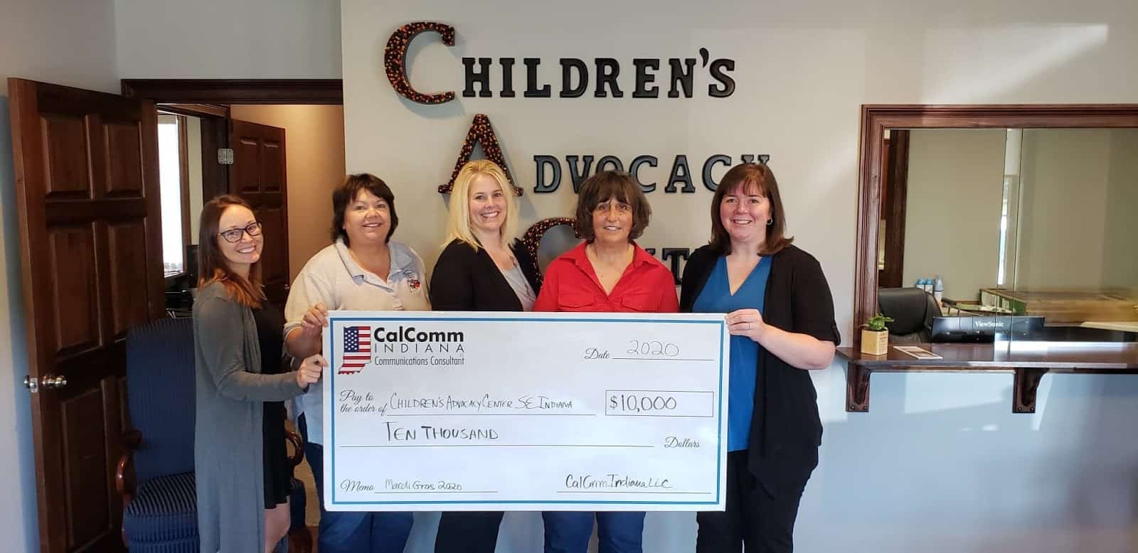 CalComm Indiana Donation