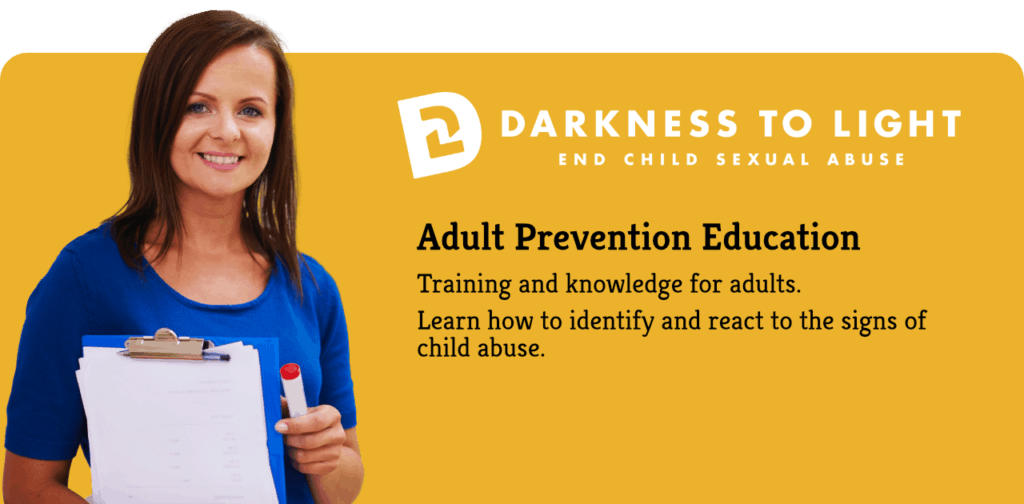 Abuse education for adults